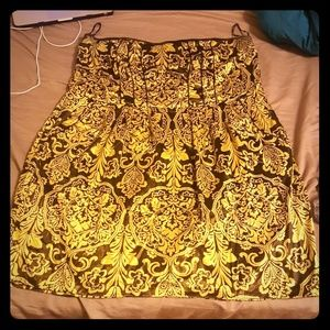 Torrid strapless holiday dress